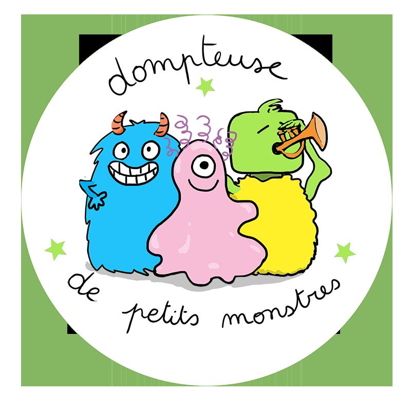 Badge Dompteuse de petits monstres