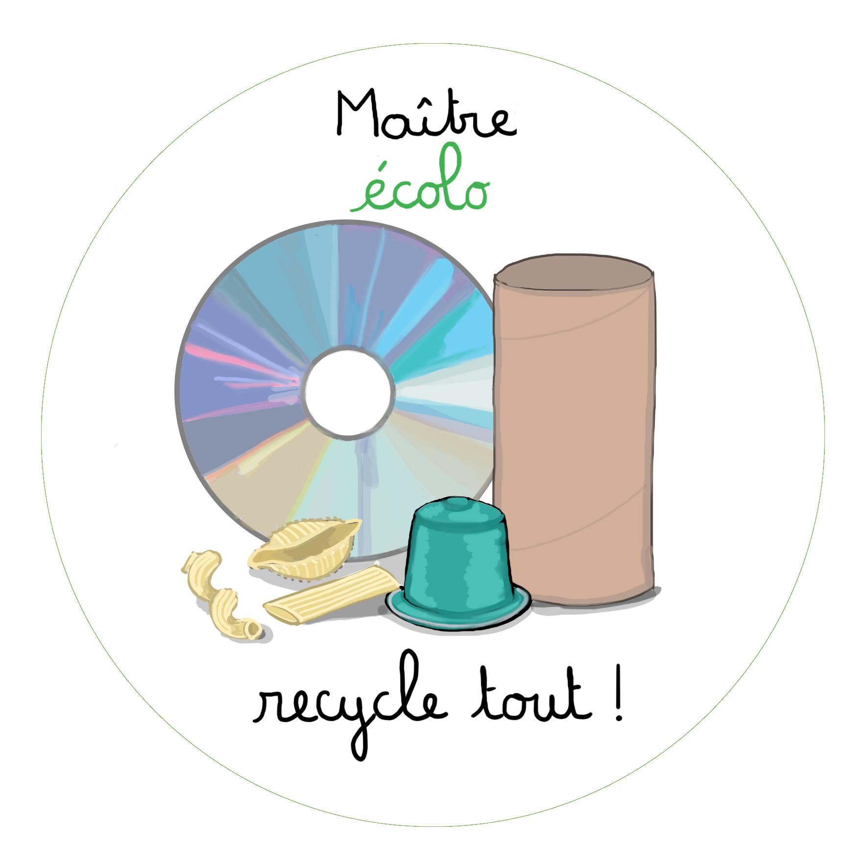 Badge Maître écolo
