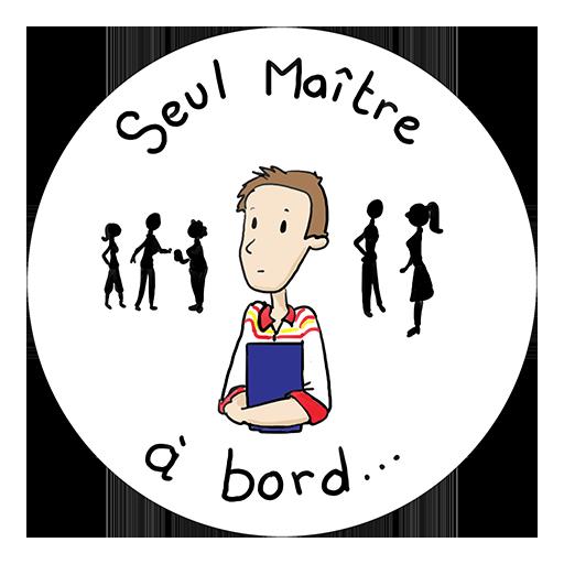 Badge Seul maître à bord