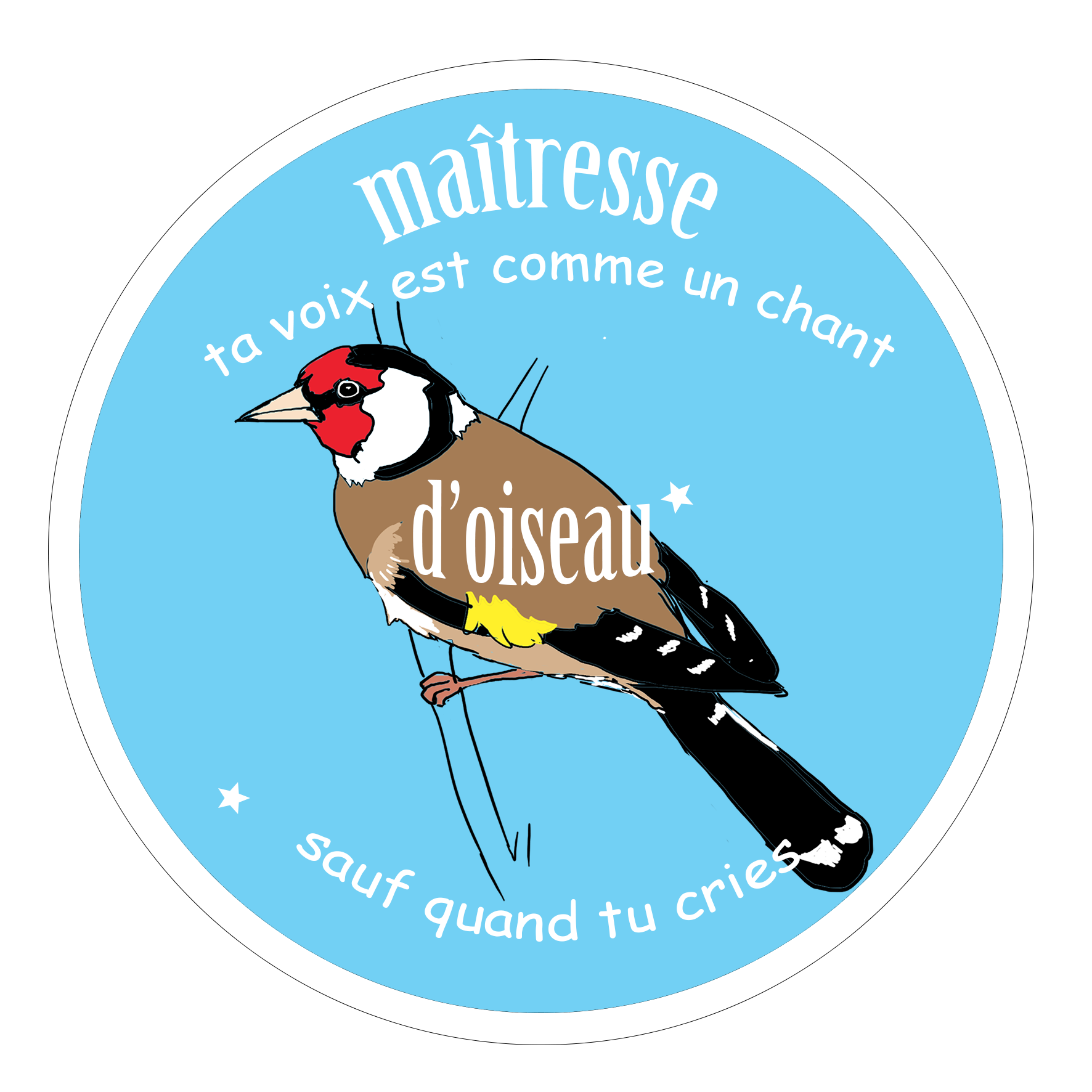 Badge Oiseau