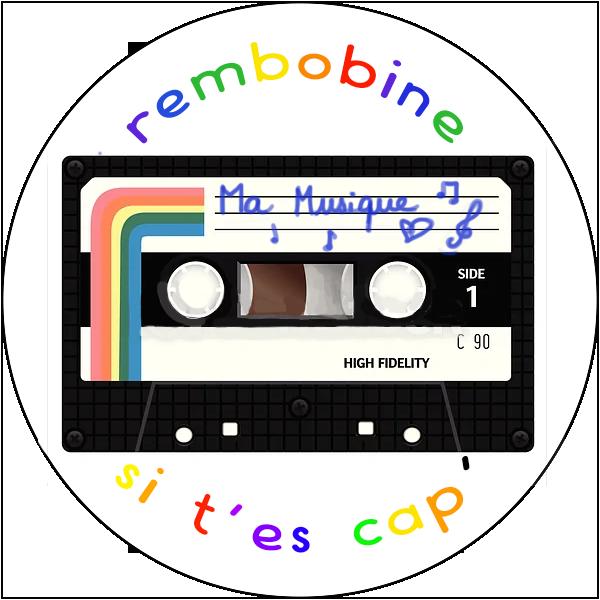 Badge rembobine